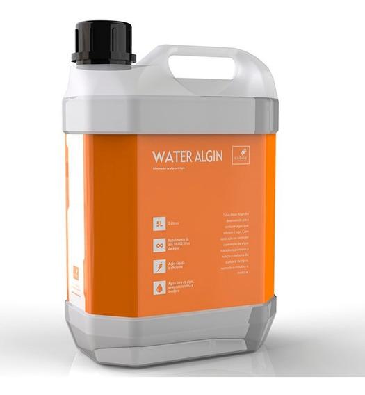 Algicida Para Lagos Cubos Water Algin 05 Litros Trata 7600 L
