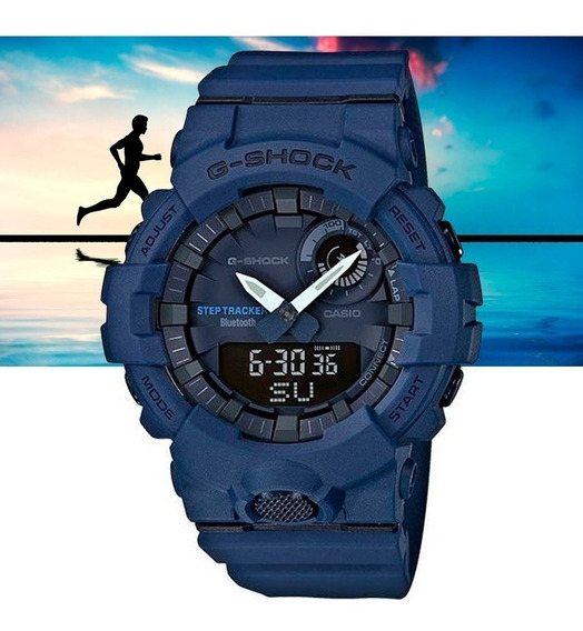 Relógio Casio G-shock Masculino G-squad Gba-800-2adr Azul
