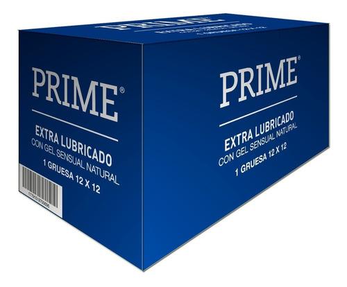 Preservativos Prime Extra Lubricado X144 Unidades Mas Sedoso