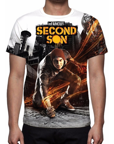 Camisa, Game Infamous Second Son 02