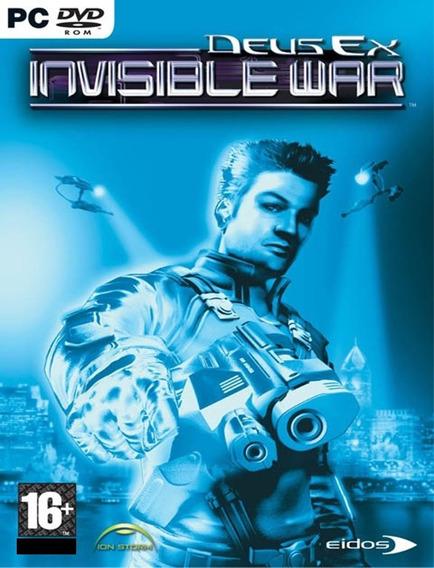 Deus Ex Invisible War Pc - Steam Key (envio Já)