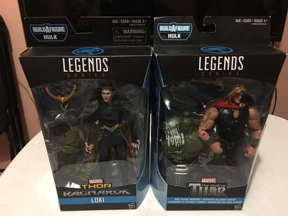 Marvel Legends Thor Y Loki Paquete