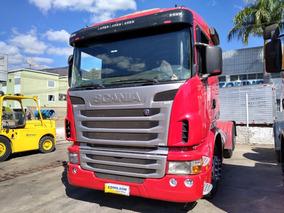 Scania 420 6x4 Ano 2010 Vermelho