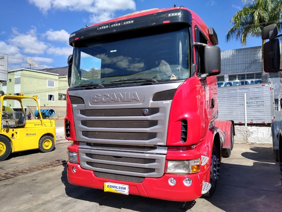 Scania 440 /6x4 Ano 2010 Vermelho