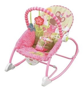 Silla Sillon Portatil Para Bebe Nueva Fisher Price 2en1