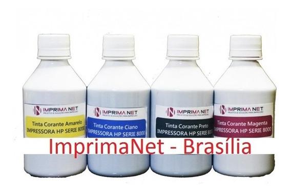 Tinta Para Hp 8600 / 8100 / 8000 / 8500 - 300ml - Corante