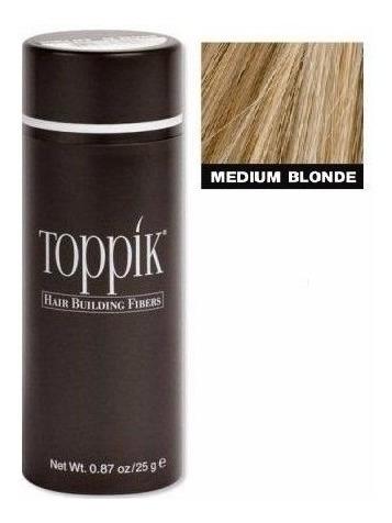 Toppik Hair Fibra Capilar Para Calvície 25g Loiro Medium