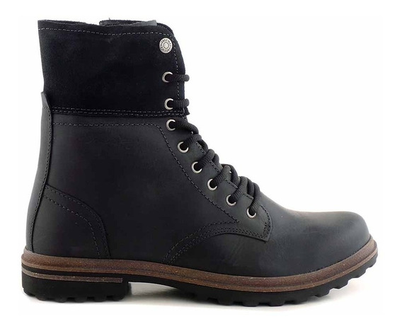 Borcego Bota Cuero Mujer Freeway Zapato Goma - Mcbo24803