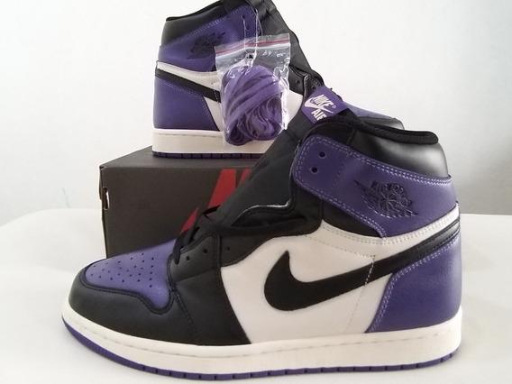 Air Jordan Retro 1 Court Purple