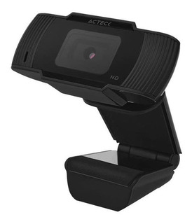 Cámara Web Acteck Wm20 720p Usb Para Pc Con Micrófono