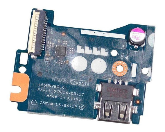 Placa Auxiliar Notebook Acer Es1-511 Z5w1m Ls-b471p (9173)