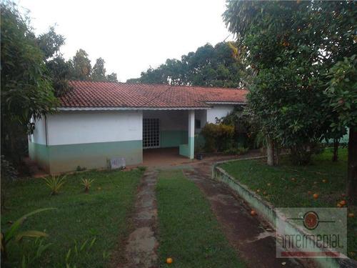 Chácara Residencial À Venda, Recanto Maravilha Ii, Boituva - Ch0468. - Ch0468