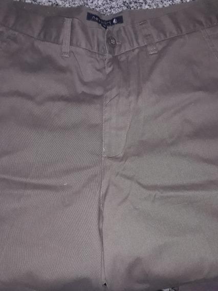 Pantalon Gabardina Nautico Sin Uso Talle 34 (44)