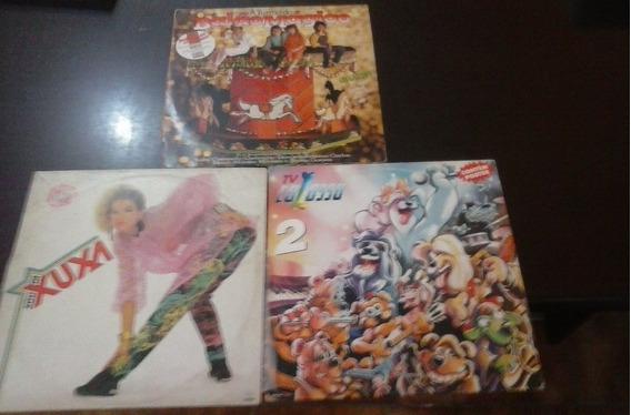 Lps Música Infantil. Lote C/ 6 Discos.vide Descrição E Fotos