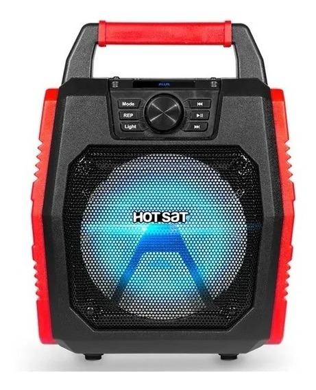 Caixa De Som Portátil Hot Sat Hsx-150s 120w Bluetooth Radio