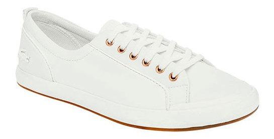 Lacoste Sneaker Formal Blanco Sint Ortholite Niño Btk07129