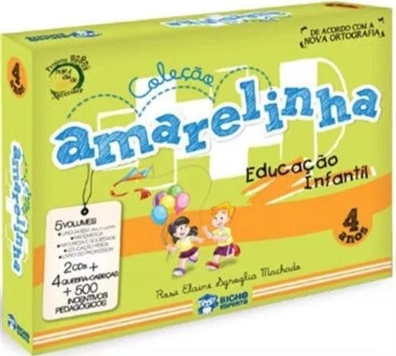 Col.pedagogica Amarelinha 4 Anos Educação Infantil
