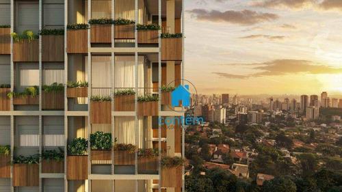 Imagem 1 de 30 de St0044-condomínio Terrae Studio Com 1 Dormitório À Venda, 25 M² Por R$ 356.557 - Pinheiros - São Paulo/sp - St0044