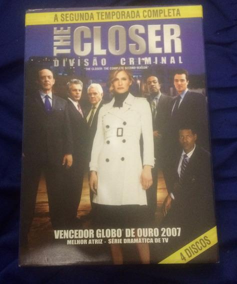 Dvd The Closer Divisão Criminal 2ª Temporada - Original