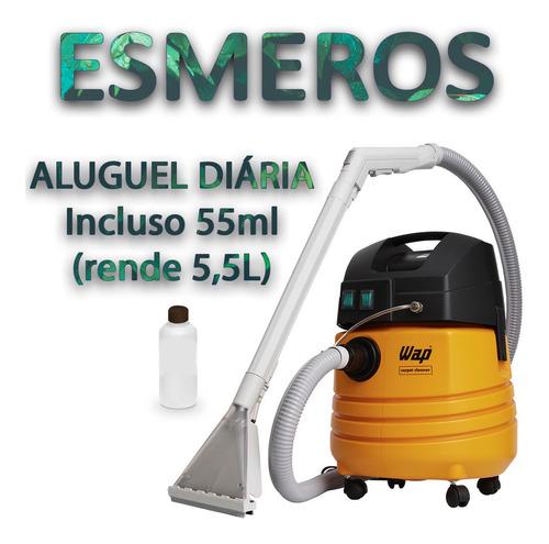 Locação De Lavadora Extratora Wap Carpet Cleaner 1600w 25l