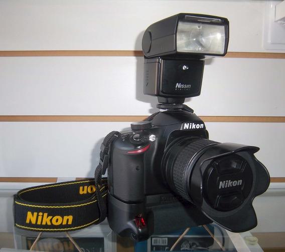 Cámara Réflex Nikon D3200 (como Nueva) + Accesorios.