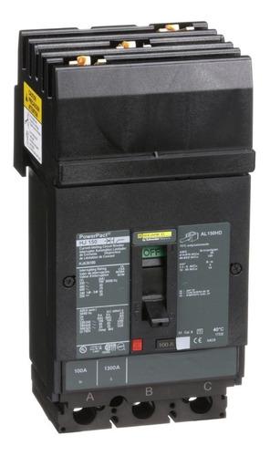 Imagen 1 de 1 de Interruptor Termomagnético 3p 100a Schneider Hja36100