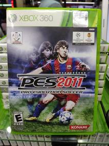 Jogo Pes 2011 Xbox 360, Mídia Física Usado