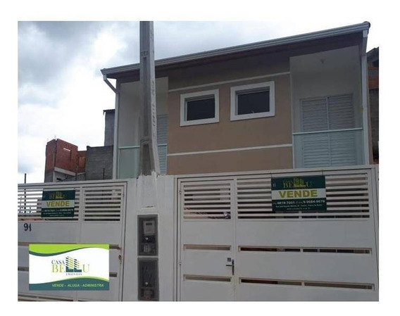 Casa Com 2 Dormitórios À Venda, 64 M² Por R$ 230.000,00 - Chácara São Luiz - Franco Da Rocha/sp - Ca0335