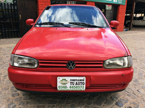 Volkswagen Gol 1998 Rojo 1.6