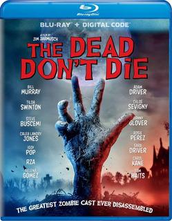 Blu Ray The Dead Dont Die Jarmusch Original