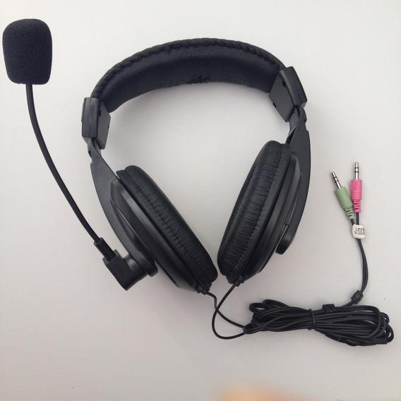 Fone De Ouvido C3 Tech Voicer Confort 32 Ohms Preto Usado