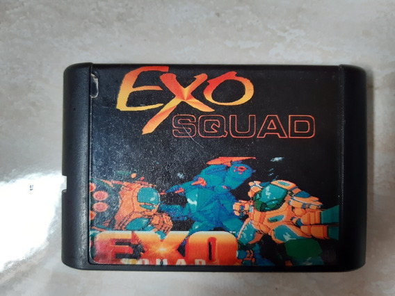 Exo Squad Para Mega Drive Paralela Funcionando - 441