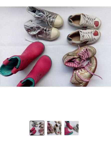 9 Pares Calçados Tênis Tamanho 29 Menina