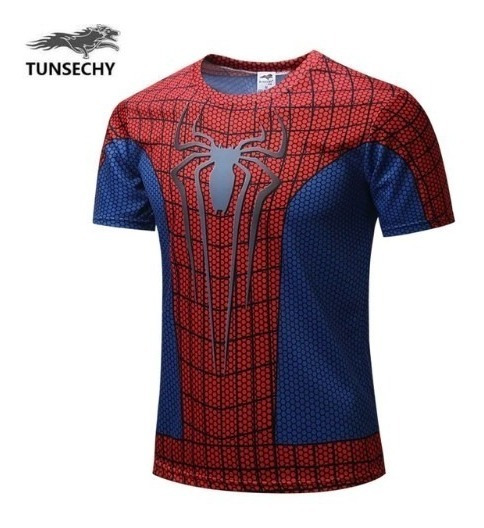 Playera Spiderman Marvel Endgame Avengers Gym Unisex