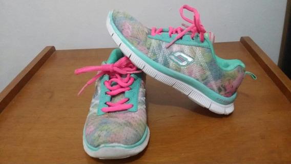 Zapatos De Niña Skechers Talla 28 A Buen Precio