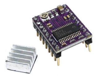 Driver Drv8825 Motor Pololu Stepstick Arduino Ramps 3d