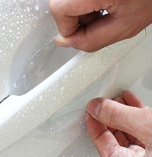 Kit 4 Adesivos Protetor Maçaneta Porta Carro Universal
