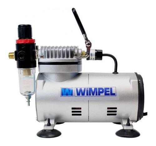 Compressor Bivolt C/mangueira, Filtro Regulador P/aerografia
