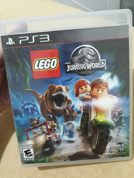 Lego Jurassic World Ps3 Midia Fisica.