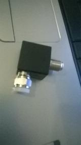 Adaptador Antena Tv Samsung Original Conector F 90° Graus No