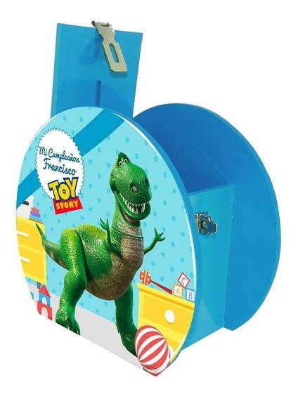 6 Alcancía Centro Mesa Dulcero Toy Story Rex Personalizado