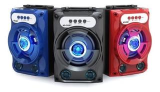 Parlante Portatil Bluetooth Recargable 5w Sd Aux Radio Fm