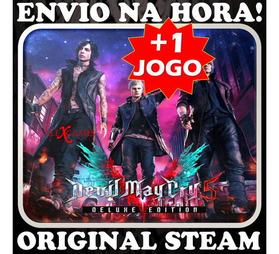 Devil May Cry 5 Deluxe Edition Original Steam Pc