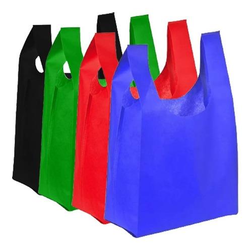Imagen 1 de 7 de Pack 1000 Bolsa Ecologica 35x20 Tnt Reciclable / Lhua Store