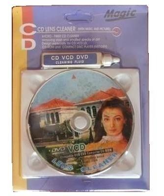 Cd Limpiador Dvd Equipos Reproductor Pc Laptop Bluray