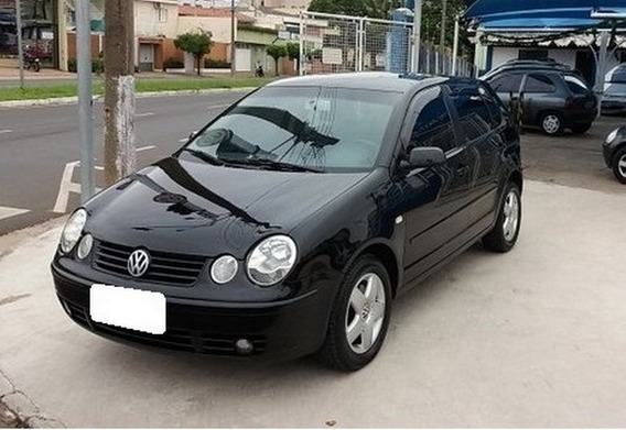 Volkswagen Polo 1.6 8v Gasolina 4p Manual 2003 Preto