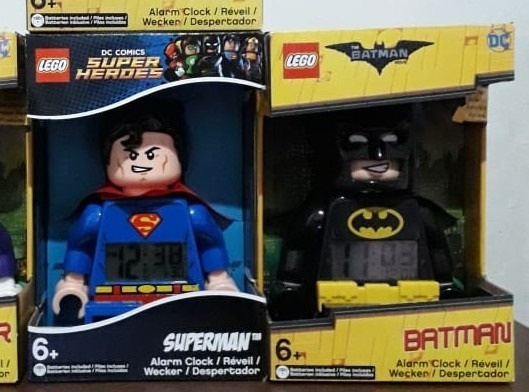Relog Lego Batman Y Superman