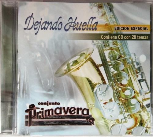 Conjunto Primavera - Dejando Huella Edicion Especial Cd