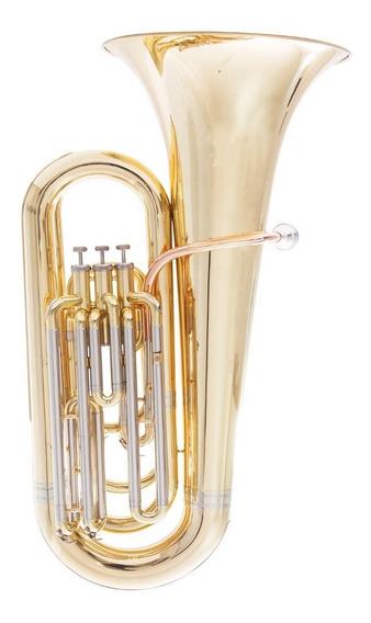 Tuba Bombardão Prowinds Sib 3 Pistos Laqueado
