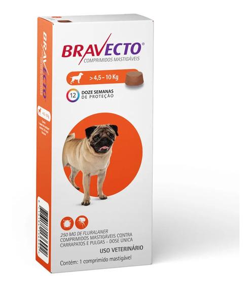 Bravecto Original Para Cães De 4,5 A 10kg